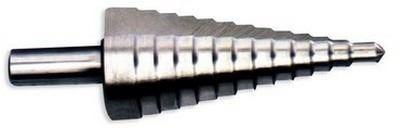 mecha escalonada 4 a 12mm.ancho escalón 1mm:hss ecef