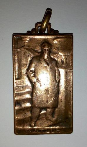 medalla de bronce. antigua. batlle.