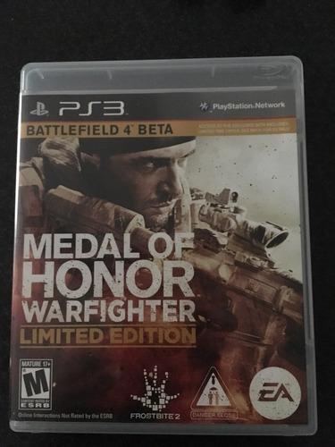 medalla de honor playstation3 original