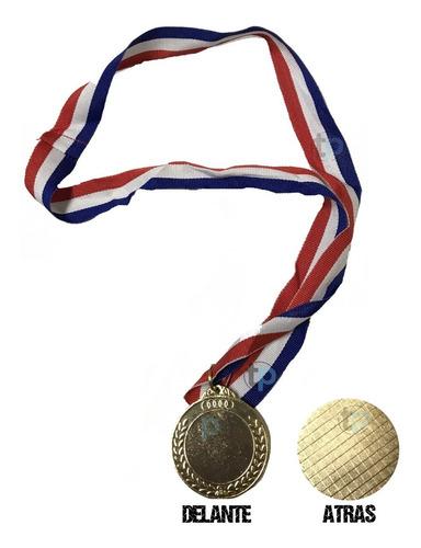 medalla premio imitación oro 5cm  fútbol basketball hockey