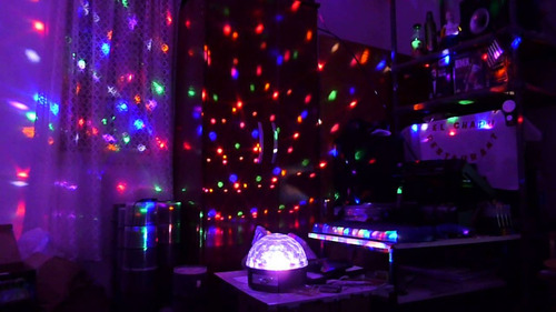 media bola luces led audio fiesta oferta ahorro y compras