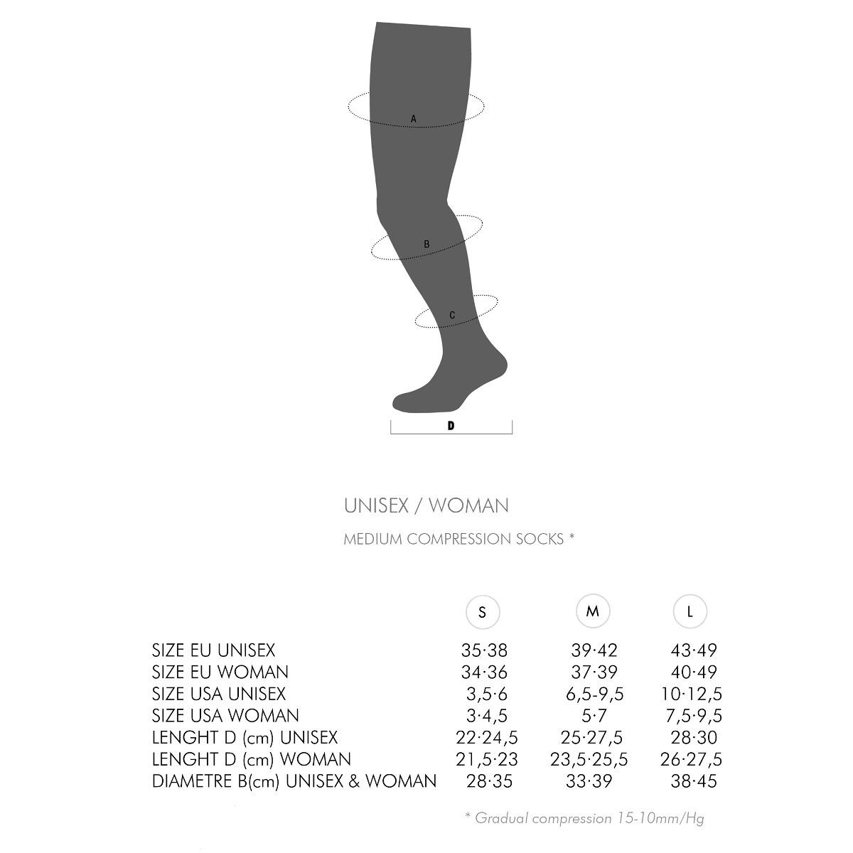3ac5cd565cd Medias Calcetines De Compresion Trail Plus - Lurbel - $ 1.490,00 en ...
