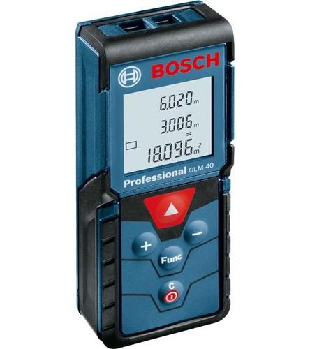 medidor de distancia laser glm 40  bosch 40mts