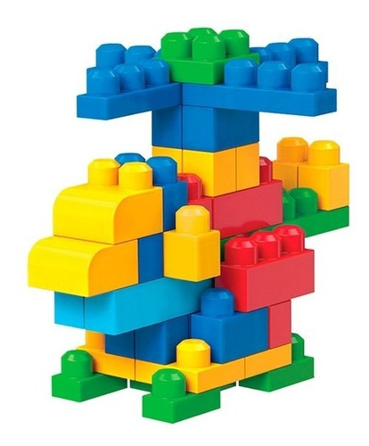 mega bloks - bolsa grande clásica - fisher price dch63