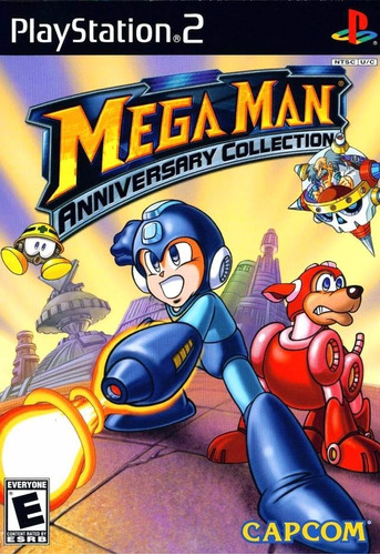 megaman anniversary collection.-ps2