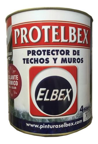membrana impermeabilizante techos y muros protelbex 4 kgs.