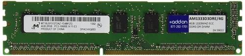 memoria addon-memory 4 gb ddr3 1333 (pc3 10600) ram