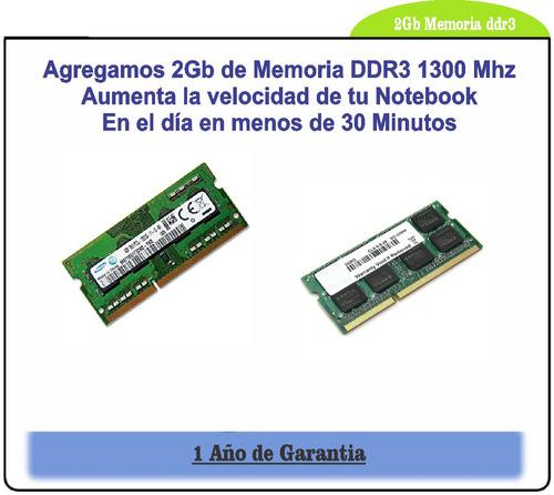 memoria ddr3 notebook