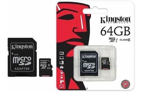 memoria micro sd-64gb clase 10
