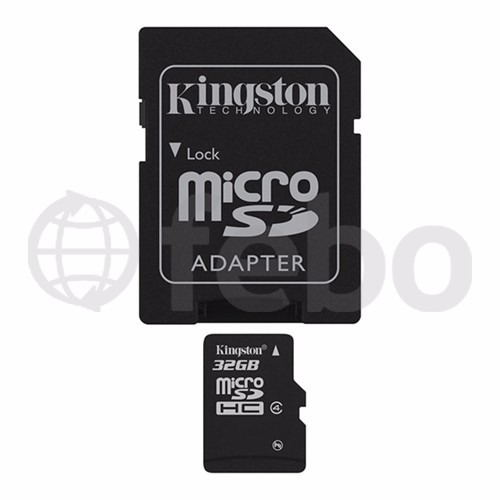memoria micro sd kingston 32gb celular camara tablet febo