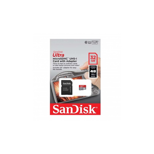 memoria micro sdhc sandisk 32gb clase 10