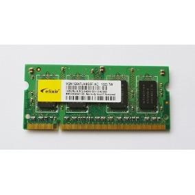 memoria ram elixir 1gb ddr2 para portátiles