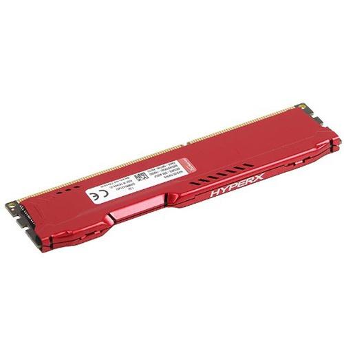 memoria ram pc hyperx fury ddr3 8 gb red ddr3 1600 mhz non-e