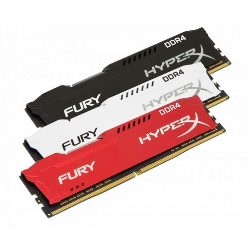 memoria ram pc hyperx  fury ddr4 16gb 2400mhz pc