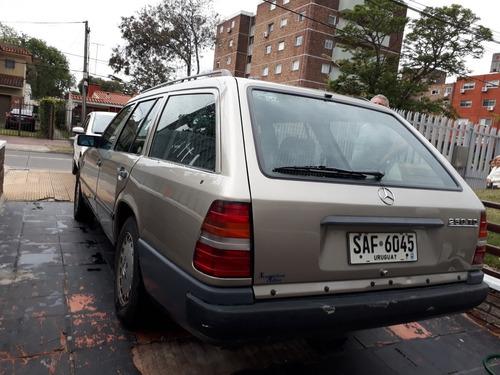mercedes-benz carroceria 124. año 88.