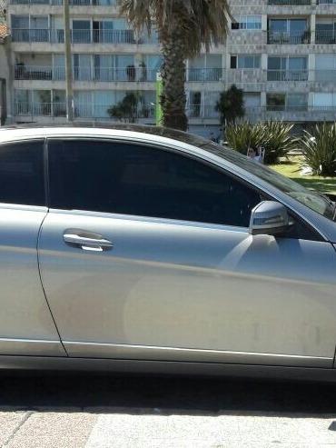 mercedes benz clase c c 250 coupe blue efficiency 2012