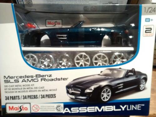 mercedes - benz sls amg roadster 1:24