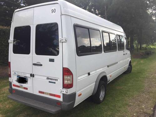 mercedes-benz sprinter 2.5 413 minibus 4025 19+1 2007