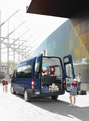 mercedes benz - sprinter minibus extralargo 515 sin asientos