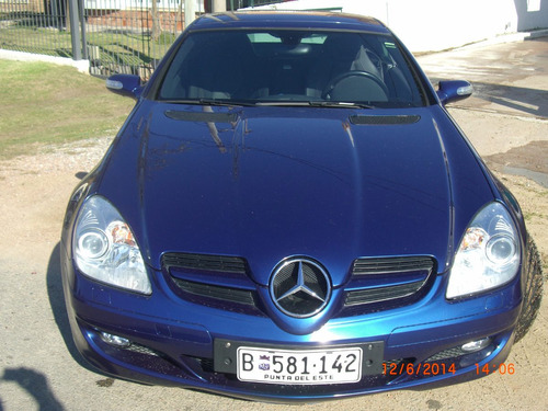 mercedes s.l.k 200 impecable!!!