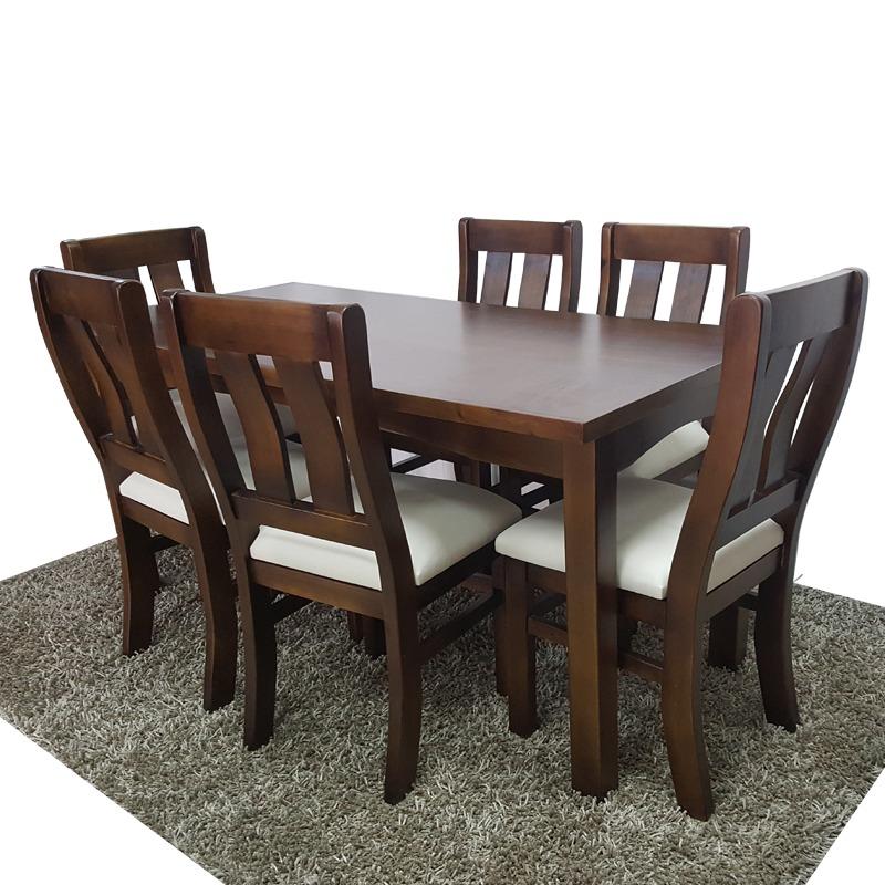 Mesa 6 sillas para comedor o cocina variedad de modelos gh for Mesa mas sillas comedor