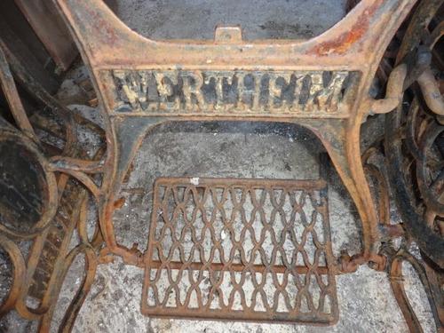 mesa antigua de hierro maquina de coser tengo otros