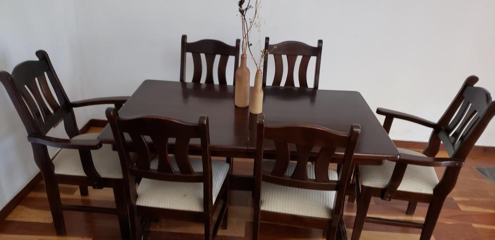 Mesa Comedor Madera Maciza - $ 15.000,00 en Mercado Libre