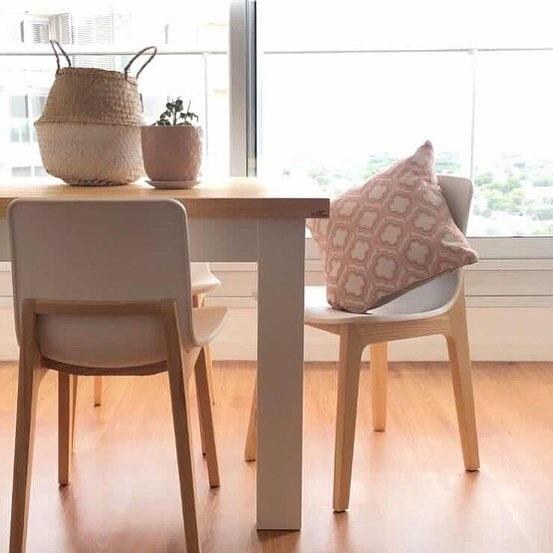 Mesa comedor cocina madera maciza a medida fabricada en for Mesa cocina madera maciza