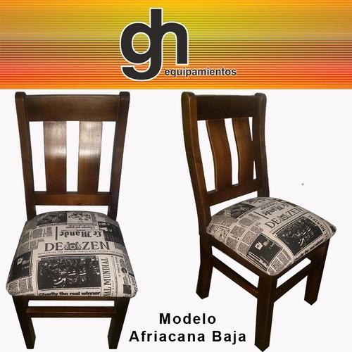 Mesa con sillas para cocina y comedor 100 en madera for Mesas y sillas de madera para cocina