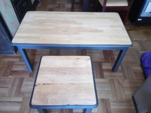mesa de centro y mesa lateral