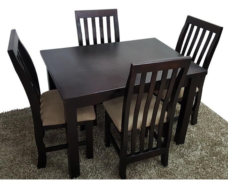 Mesa De Comedor Chica Con 4 Sillas Cocina Desayunador