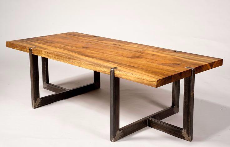 Mesa De Comedor De Diseño Industrial Hierro Y Madera Pallets - $ 4.290,00