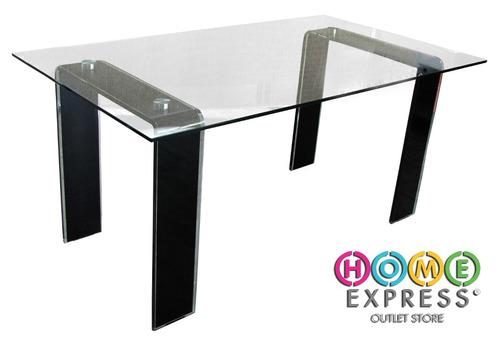 Mesa de comedor de vidrio templado en - Mesas de vidrio templado ...