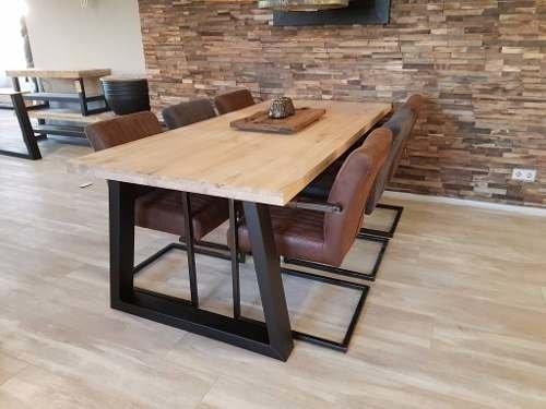 Venta Unica Mesas De Comedor.Mesa De Comedor Estilo Industrial 150x80x80 Calidad Unica