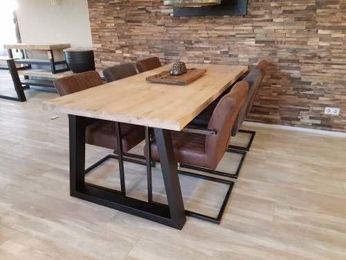 Mesa de comedor estilo industrial 150x80x80 calidad unica for Mesa de comedor de estilo industrial