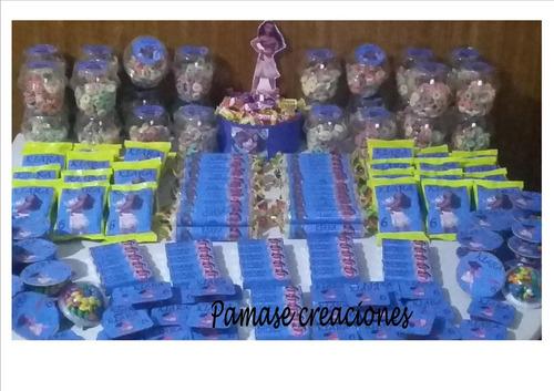 mesa de dulces infantiles oferta por niño