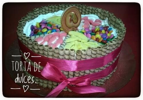 mesa de dulces infantiles personalizadas
