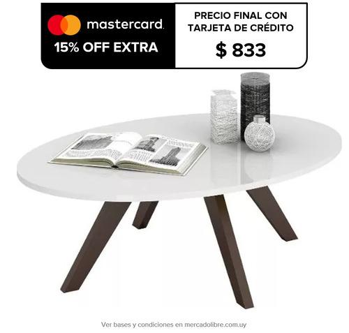 mesa de living mesa ratona living comedor alba 10992