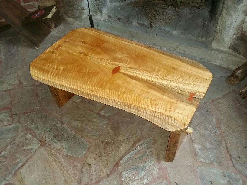 Mesa de madera maciza rustica barnizada en mercado libre - Mesa madera maciza rustica ...