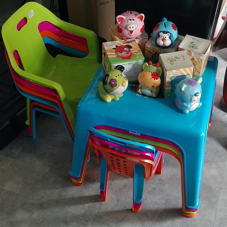 Mesa de plastico para ni os toy feliz en - Mesas para ninos de plastico ...