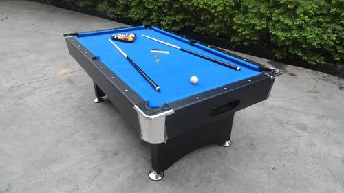 mesa de pool profesional - distintas opciones de color