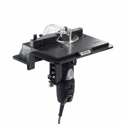 mesa de router o fresadora para minitorno dremel 231