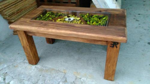 mesa en madera
