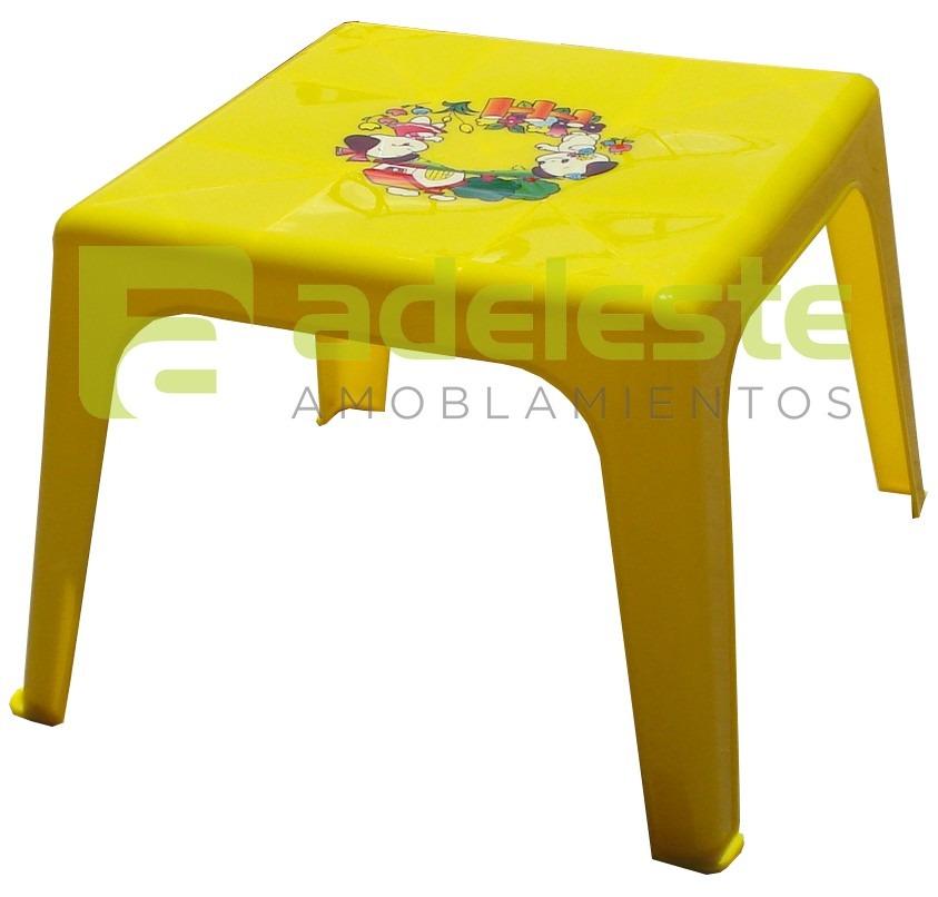 Mesa infantil para ni os en pl stico pvc con dise os - Mesas para ninos de plastico ...
