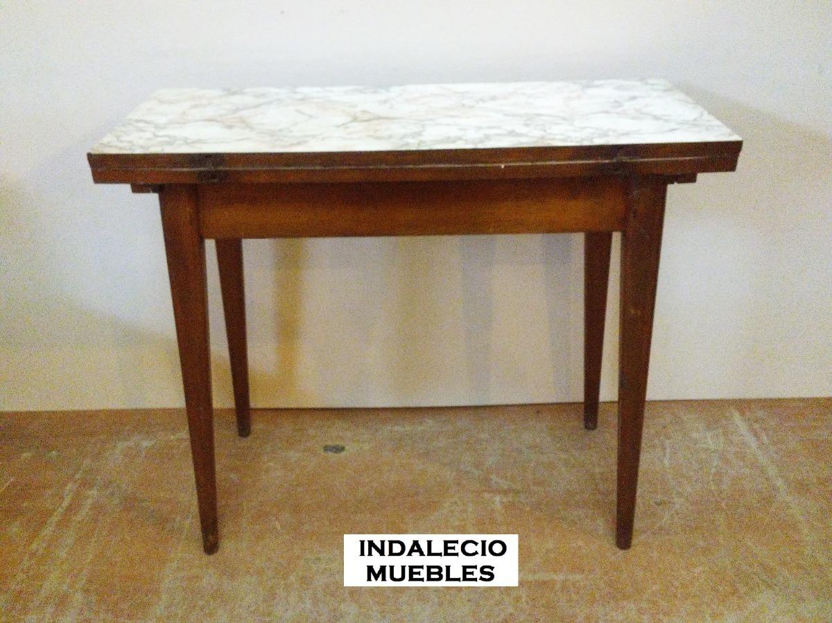 Mesa Libro Cocina Antigua Estilo Americano - Indalecio - $ 1.590,00