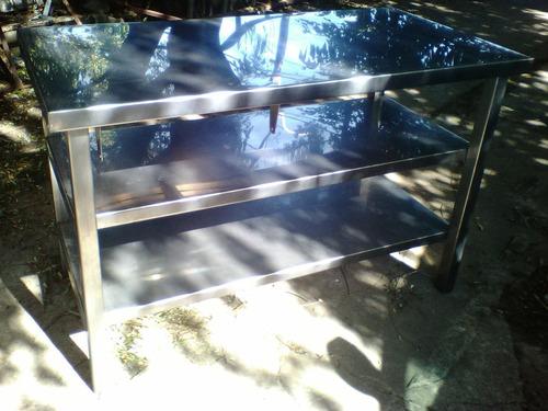 mesa mt.140x70x90 c/2 estantes®