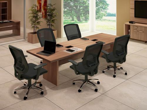 mesa para reuniones en mdf 270cm