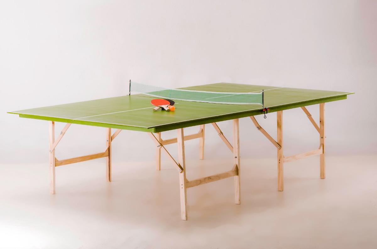 Mesa Ping Pong Plegable Medidas Reglamentarias C Acc C D 4 760