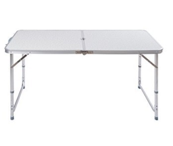 Plegable Niveles Mesa Aluminio 90x60 3 CmsAjustable tQshrdxC