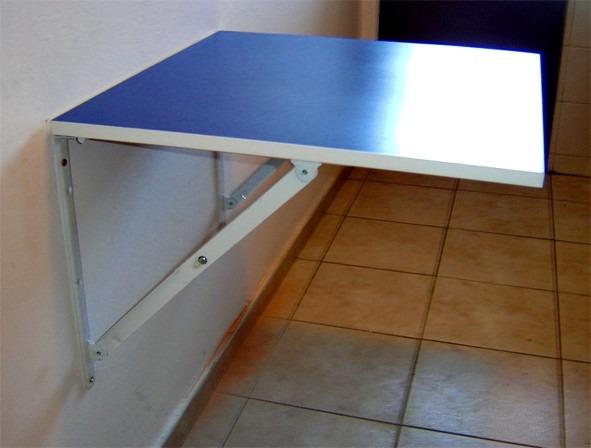 Mesa Plegable Para Espacios Reducidos En Varios Tonos $ 1290